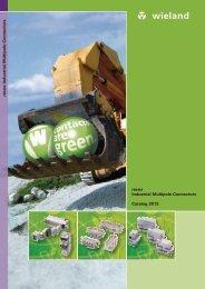 revos Industrial Multipole Connector Catalog - Wieland Electric