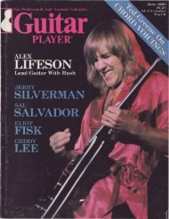 Alex Lifeson: Rush's Kinetic Lead Guitarist - Cygnus-X1.Net