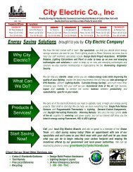 Solutions - City Electric Company Inc.