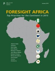 foresight africa full report FINAL
