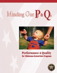 Minding Our Ps & Qs - Performance and Quality 2003
