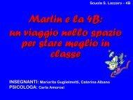 Martin e la 4B - USP di Piacenza