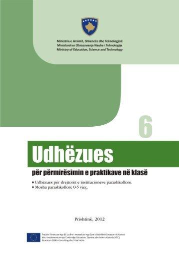 Udhëzues për përmirësimin e praktikave në klasë - EU EDUCATION ...