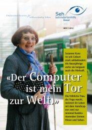 ist mein Tor ist mein Tor «Der Computer « - Sehbehindertenhilfe Basel