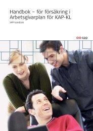 Handbok – för försäkring i Arbetsgivarplan för KAP-KL - SPP