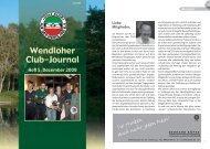 Liebe Mitglieder - Golf Club auf der Wendlohe