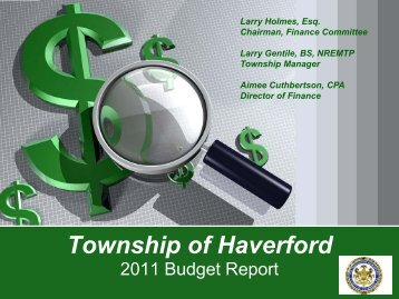 Township of Haverford - Home - Haverford Township Information ...
