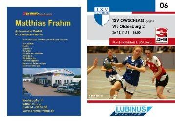 VfL Oldenburg 2 So 13.11.11 - TSV Owschlag