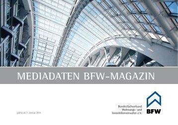 Die Mediadaten unserer aktuellen Ausgabe als PDF ... - BVI Magazin