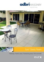 Euro® Classic Pavers - Shoalhaven Brick and Tile
