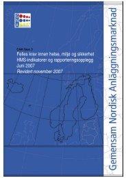 GNA HMS Utviklingsplan Rapport - Statens vegvesen