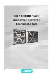 DB 1100/DB 1400 Giebelventilatoren - Skov A/S