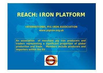 REACH: IRON PLATFORM - The Iron Platform