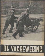 (1940) nr. 3 - Vakbeweging in de oorlog