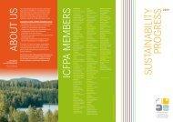 ICFPA Sustainability Progress report 2009 Summary