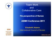Presentation - AEMH
