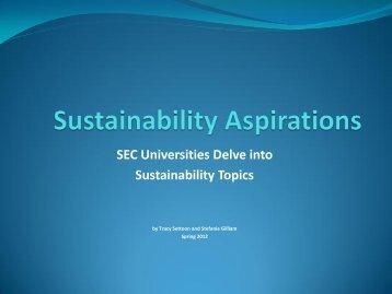 Powerpoint - Sustainability