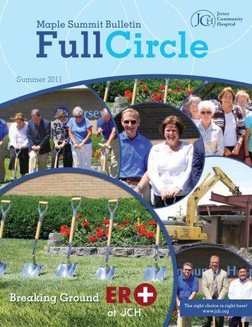 JCH Newsletter Summer 2011 - Jersey Community Hospital