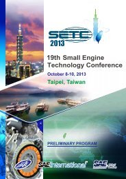 Download - Small Engine Technology Conference SETC