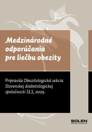 Medzinárodné odporúčania pre liečbu obezity - Solen