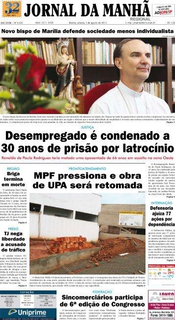 Capa do jornal em PDF