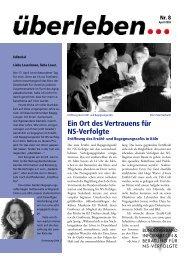 Überleben 8/2005 - Bundesverband Information und Beratung für ...