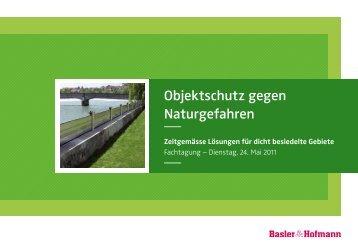 Objektschutz gegen Naturgefahren - Basler & Hofmann
