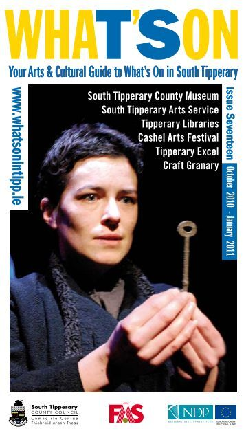 Your Arts & Cultural Guide to What's On - South Tipperary County ...