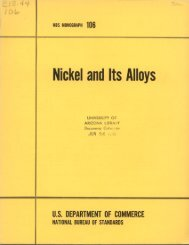 Nickel and Its Alloys - Digital Collections