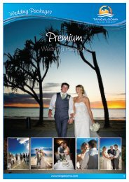 Premium Wedding Package Tangalooma's most popular package ...