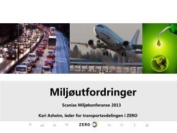 ZERO - Kari Asheim: Miljøutfordringer - Scania