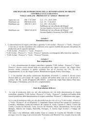 DOCG Colli Asolani - Prosecco o Asolo - Prosecco ... - Valoritalia