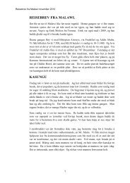 2012-reisebrev fra malawi november