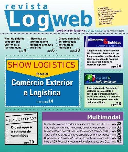 Edição 74 download da revista completa - Logweb