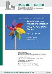 Wind Turbine Rotor Blades - OCV Reinforcements