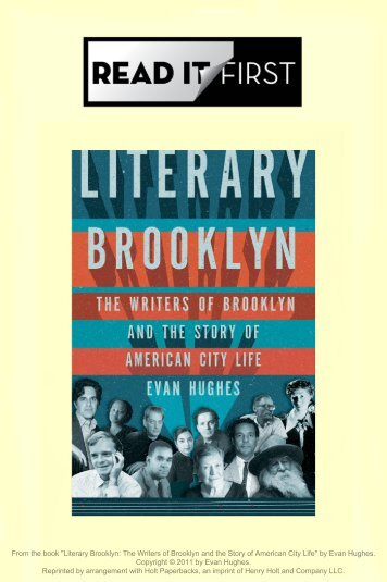 """Literary Brooklyn - The New York Times"