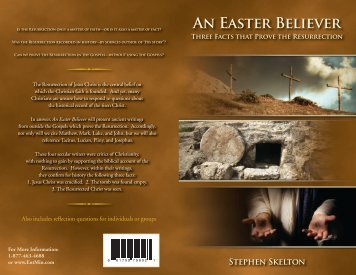 An Easter Believer - The Entertainment Ministry
