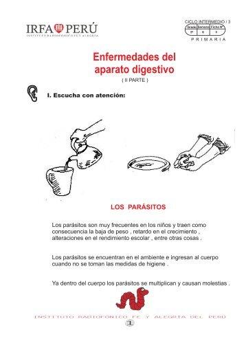los parásitos - Irfa Perú