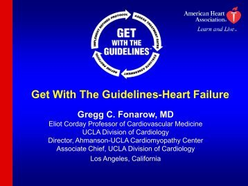 Get with the Guidelines-Heart Failure (Fonarow) - QUERI