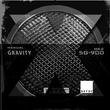 xetec gravity mk2 series 5g-900