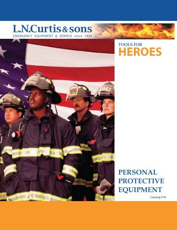 personal protective equipment - LN Curtis & sons