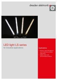 LED light LS series - dresden elektronik ingenieurtechnik GmbH