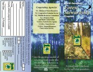 North Carolina's Forest Stewardship Forest ... - NC Forest Service