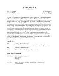 Download CV - Analysis Group