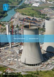 Rapport Annuel 2011 www.hamon.com