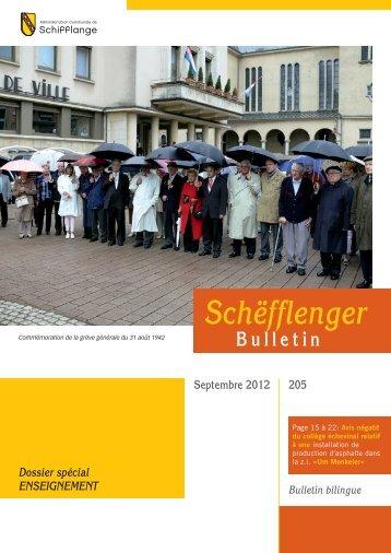 Schëfflenger Bulletin - Schifflange