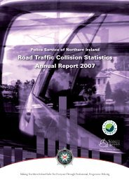 Injury Road Traffic Collision Statistics Annual Report 2007