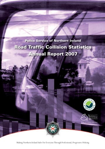 Injury Road Traffic Collision Statistics Annual Report 2007