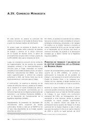 Comercio minorista - Buenos Aires Ciudad
