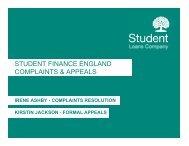 student finance england complaints & appeals - HEI Services